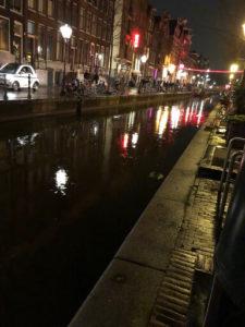 Cannabis Amsterdam Canal