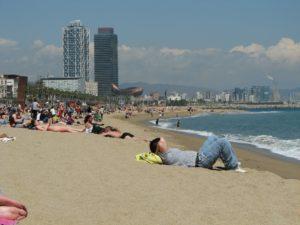 La Barceloneta Beach Barcelona