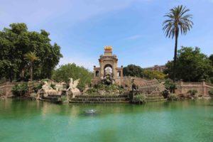 Parks in Barcelona Ciutadella