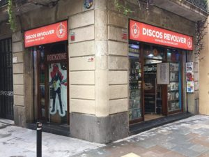 Classic Barcelona Vinyl Shop Discos Revolver