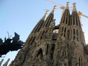 Church La Sagrada Familia Barcelona