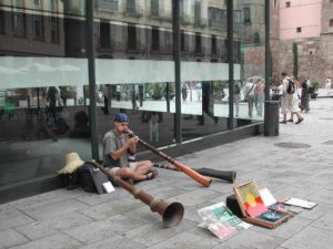 Music Performance Barcelona Streets