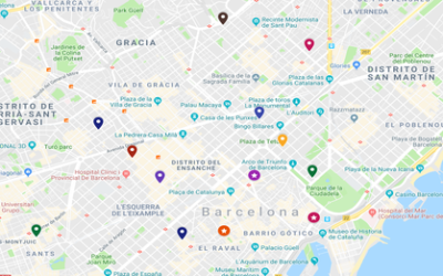 Weed Map of Barcelona
