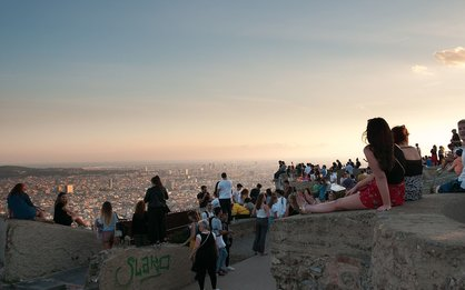 High in Barcelona