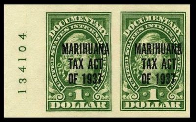 Marijuana Tax Stamp