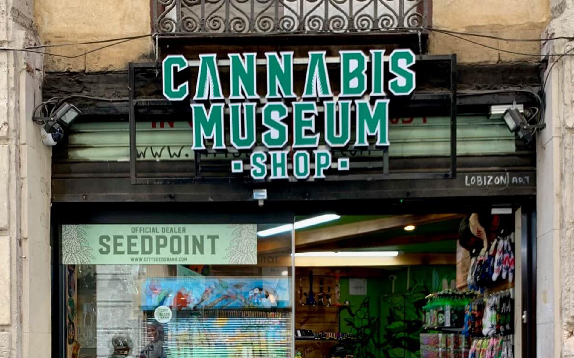 cannabis amsterdam museum shop barcelona