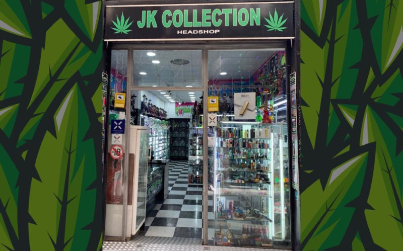 jk collection grow shop headshop seed bank barcelona coffeeshop