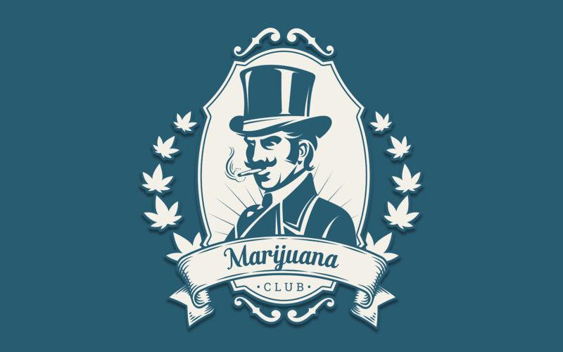 Man on top hat smoking