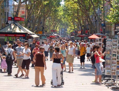 TOURISTS AND CANNABIS IN BARCELONA